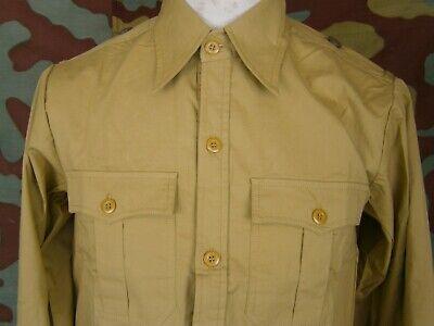German WW2 M43 tropical shirt DAK sud front Camicia M43 tropicale tedesca
