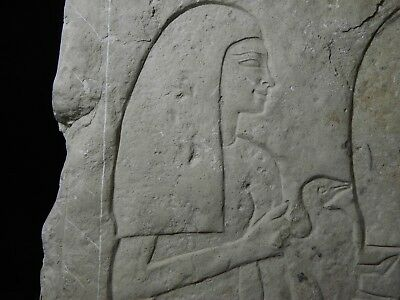 ZURQIEH - as10757- ANCIENT EGYPTIAN STONE RELIEF FRAGMENT. 19TH DYNASTY. 1290 B. 2