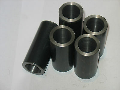 "Steel Bushings /Spacer   7/8 "" OD X 1/2 ""  ID X 2 1/2 ""  Long  2 pcs  CRS 2"