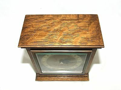 Oak with Blind Fretwork Bracket Mantel Clock by ELLIOTT LONDON 9 • £275.00