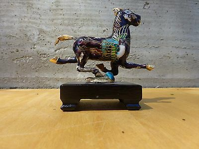 Superb Small closionne figurine of a horse-chinese ca.1970s [Y7-W7-A9] 5