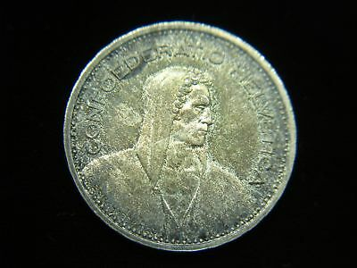 1951 B Swiss 5 Francs Silver Coin - Lovely & Orig. Toning 4