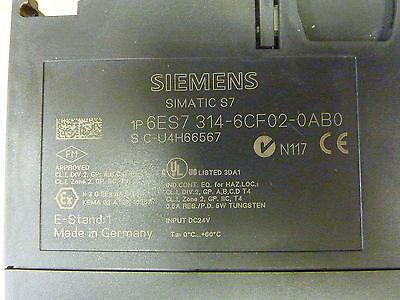 Siemens Simatic S7-300 CPU314C-2DP 6ES7 314-6CF02-0AB0 Controller (12255) 2