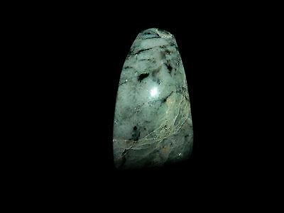 Pre-Columbian Jade Axe, Authentic Costa Rica Jade, Huge Piece of Jade 2
