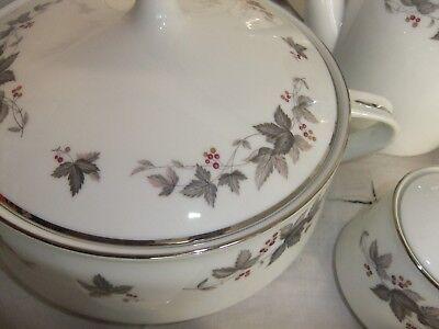 C4 Porcelain RC Japan 766 Vale - plate teacup espresso saucer tureen teapot 9C2A 2