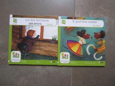 Coleccion 18 Libros Multicolor Cuentos Del Mundo Editorial Ecir. Bilingues 8