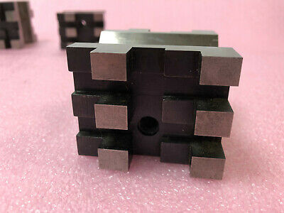 """STARRETT No. 568 PRECISION MACHINIST V BLOCK 2""""x2.5""""x3"""" 4"""