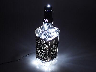 Jack Daniels - Flaschen Lampe mit 80 LEDs 220V Warm- UND Kalt-Weiß UMSCHALTBAR 5