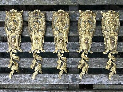 Louis XV Antique French Gilt Bronze Furniture Mounts - Selling Individually 6