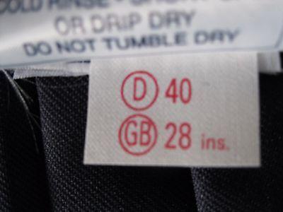 "GYMPHLEX 27 - 30"" Waist Girls/Ladies NAVY Gym Sports Skirt (kilt Style) - NEW! 7"