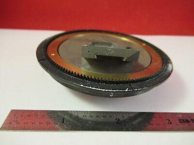 Pour Pièces Détachées Leitz Wetzlar Allemagne Tourelle Laiton Microscope Pièce 5