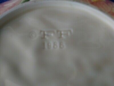 """1988 Fitz and Floyd Magnolia Serving Dish 9.25"""" 5"""