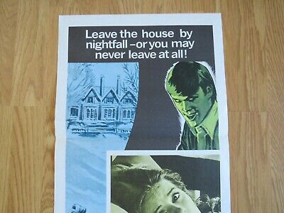 YOU'LL LIKE MY MOTHER ORIGINAL 1972 CINEMA DAYBILL FILM POSTER Patty Duke HORROR 2
