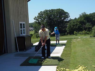 Premium Full Size 4x5 Country Club Elite Golf Practice Mat