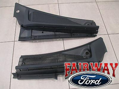 *PAIR* OEM Ford Super Duty F250 F350 Windshield Wiper Cowl Panel Grille 11-2016