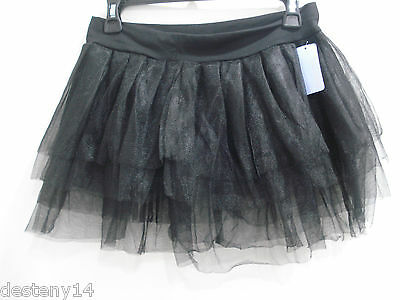 db2831637c ... Claire's Junior Ladies Black Tutu Skirt Ballerina Dance Class Size L/  XL New 6