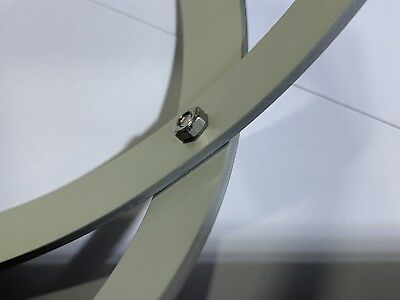 Genesa Pentasfera diametro 31 cm satinato argento profilo 1,5 cm + ciondolo 9
