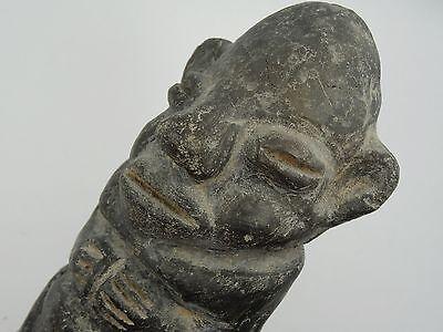 Antique Pre-Columbian Guatemala Seated Shaman Figure 4