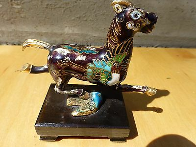Superb Small closionne figurine of a horse-chinese ca.1970s [Y7-W7-A9] 6