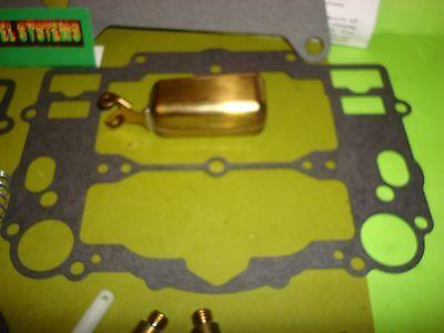 EDELBROCK CARTER AFB Carburetor Rebuild Kit W/pump And Floats 9400 9410  9500 +++