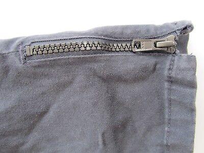 Girls JOHN LEWIS Stretch Skinny Canvas Jeans Dark Grey/Blue age 11yrs 2