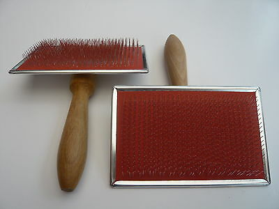 Heidifeathers® British Made Hand Carders (Pair) - For Wool + Silk 72 Point 4