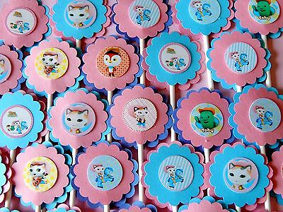 30 Sheriff Callie Cupcake Toppers Birthday Party Favors Baby Shower Decoration