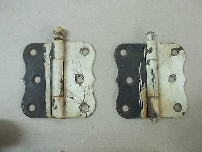 Vintage / Antique Door Knobs-Latch Assemblies-Hinges Lot         1115 4