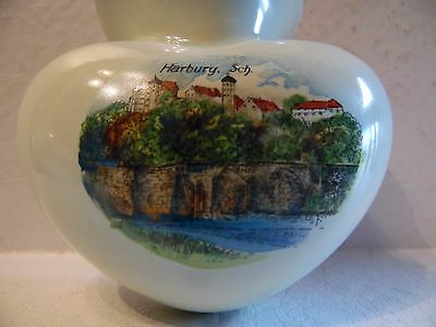 Vintage Harburg Sch. Hamburg Germany Souvenir Wall Pocket