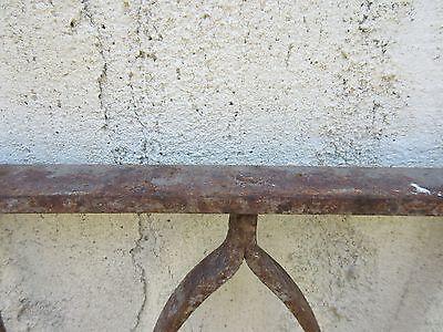 Antique Victorian Iron Gate Window Garden Fence Architectural Salvage Door #630 6