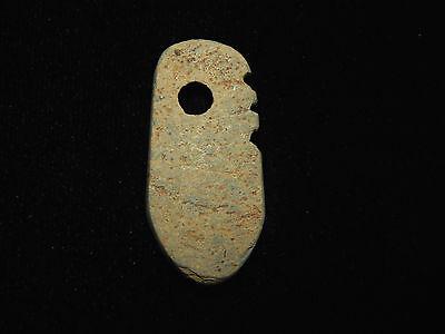 Pre-Columbian Effigy Pendant, Central America, Authentic, Ancient Pendant 3