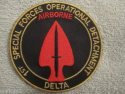 "1st Special Forces Operational Detachment ""Delta Force"" AIRBORNE US ARMY 4"