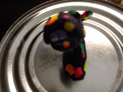 Black Laughing Horse Magnet. Cute Item For Collectors!