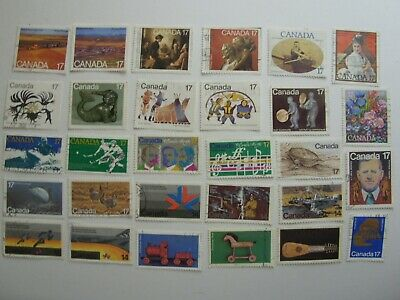 165 Different Used Canada Stamps Fine To Very Fine No Damage 2