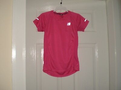 "T-Shirt "" Karrimor ""RUN Pink Size: Age:13  Years,Eur 158  Used 7"