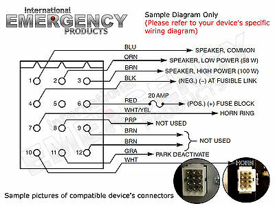 Federal Signal Smart Siren Wiring Diagram - Diagram Schematic