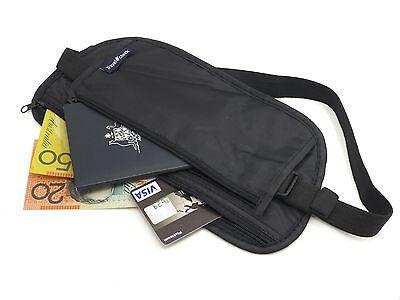 Travel Pouch Security Tips Travel Passport Secret Waist Belt Bag Secure Wallet 3
