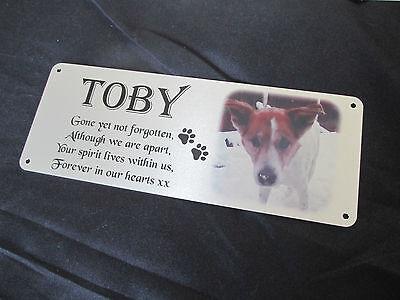 photo pet memorial plaque for dog, cat, rabbit, guinea pig, horse, hamster etc 10