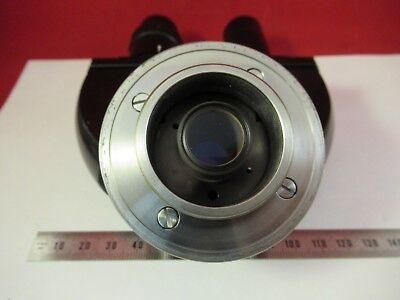 Leitz Wetzlar Allemagne Jumelles Tête Optiques Microscope Pièce comme sur Photo 7