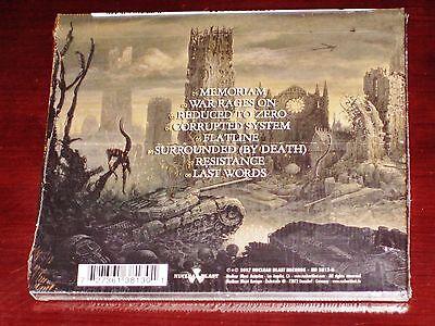 Memoriam: For The Fallen CD 2017 Nuclear Blast Records USA NB 3813-0 Digipak NEW 2
