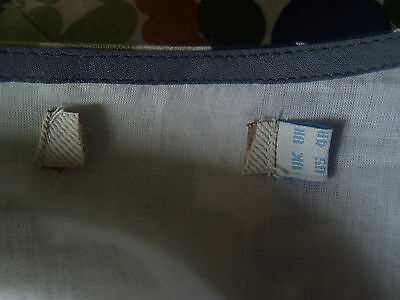 """BODEN """"Twiggy"""" Dress UK 8 10 12 14 Linen Shift with Bow NEW 10"""