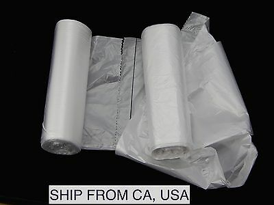 "100 Foot Bath Basin Bags & Tub Liners For Foot Detox Spa 24""x24"""
