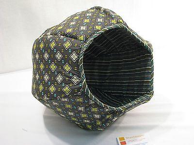 MiauSleeper™ Katzenbett Katzenlounge Spielhöhle Schlafsofa, Design MARDI GRAS