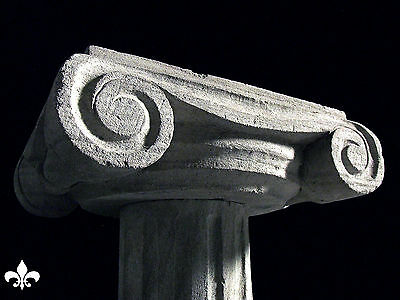 Italian Column Statue Pillar Table Stone Carved Stand 4 • CAD $1,512.00