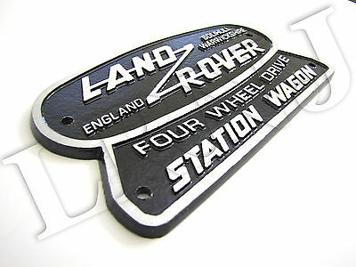 FOR LAND ROVER SOLIHULL WARWICKSHIRE OVAL PLASTIC KEY RING PLATE 74MM X 23MM