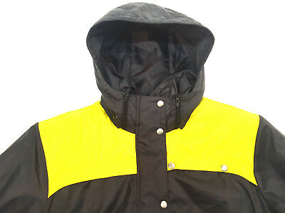 Adidas Winterjacke Jacke Blau Gelb Herren Größe M | eBay