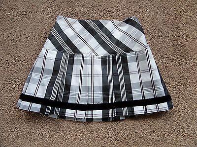 EXQUISITE Girl's DESIGNER Tartan Skirt by K.C.PARKER Age 4 From USA 2