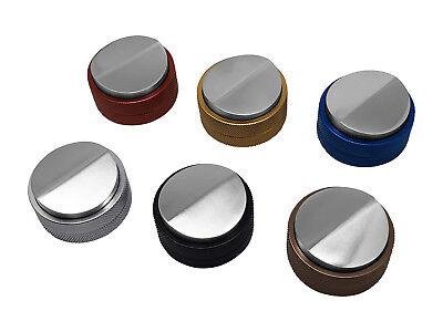 scarlet espresso Distributor »Grande DUO« verschiedene Farben 58mm Tamper Barist 5