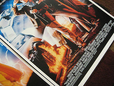 """Back to the Future ( 11"""" X 17"""" ) Movie Collector's Poster Prints ( Set of 3 ) 6"""