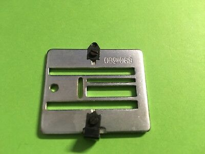 Geradestich-Stichplatte für Pfaff 6085...Q2//0612